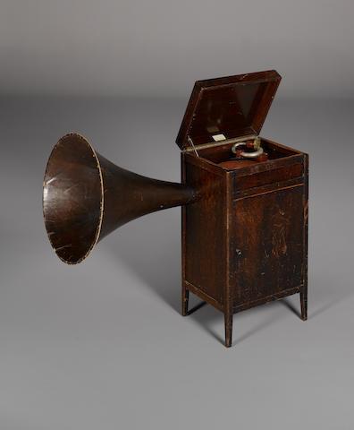 A Bond Cascade cabinet grand Gramophone