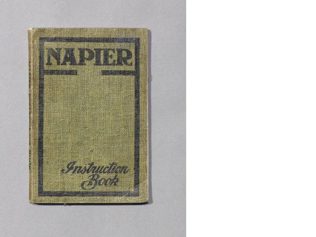 A Napier Instruction Book, 1906