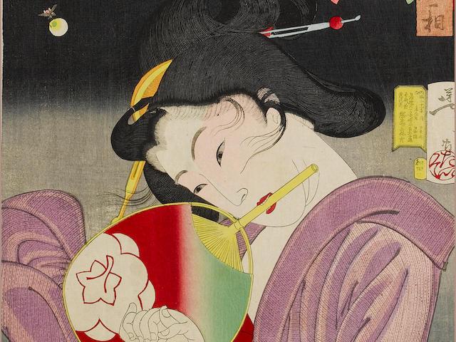 Taiso Yoshitoshi (1839-1892) Circa 1888