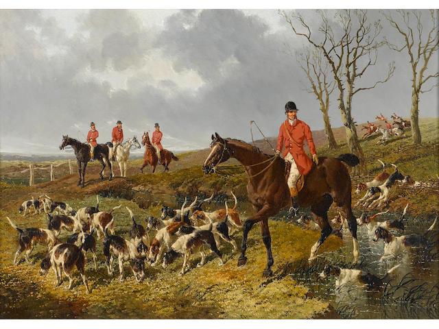 John Frederick Herring, Jnr. (British, 1815-1907) The hunt