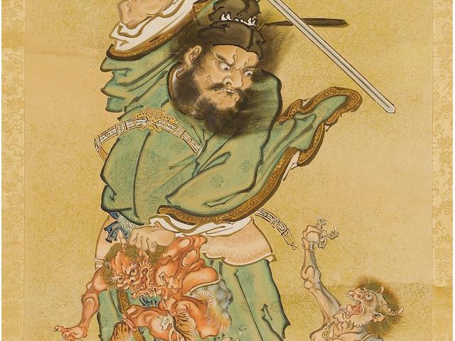 Kawanabe Kyosai (1831-89) Circa 1882