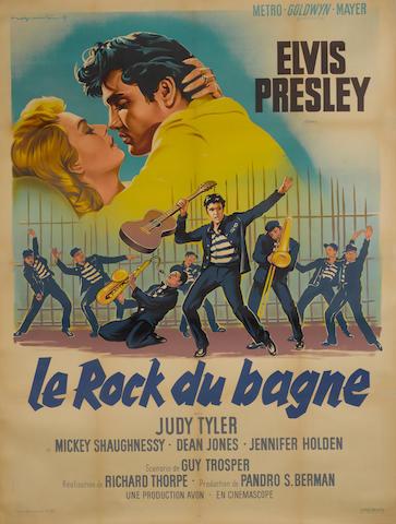 Jailhouse Rock (Rock du Bagne), Metro-Goldwyn-Mayer, 1957,