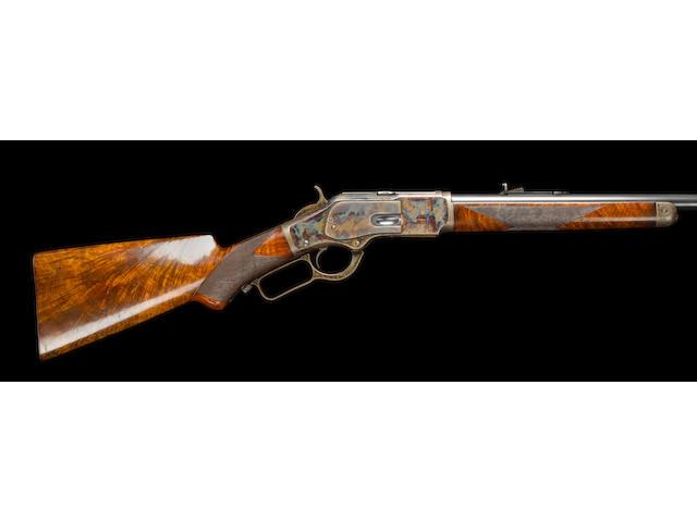 A fine Winchester .32-40 'Model 1873' 'Semi-Deluxe' underlever rifle` no. 236706