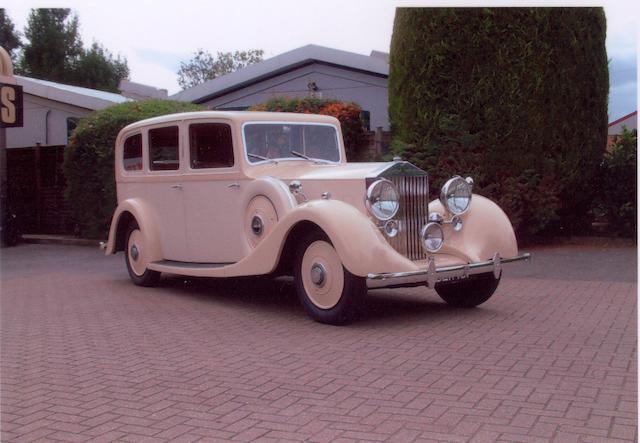 1937 Rolls-Royce 25/30 Hooper Limo,
