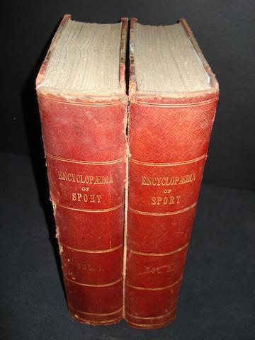 Encyclopaedia of sport 1897 - two volumes