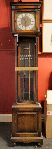 A Westminster chime long case clock W. Batty and Sons Limited, Manchester