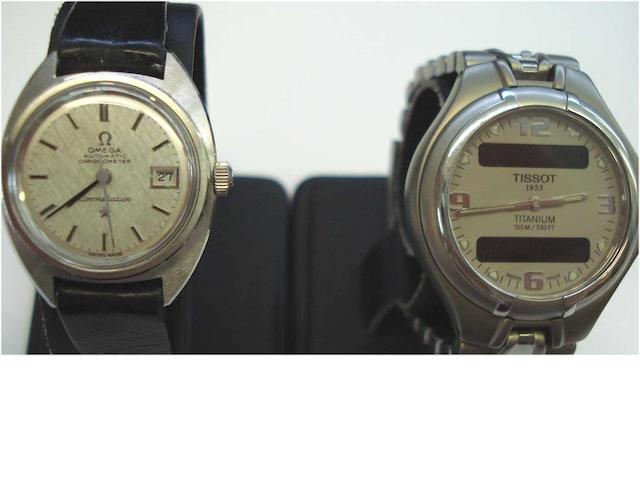 A lot of two various lady's wristwatches