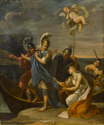 Giuseppe Passeri (Rome 1654-1714) The Departure of Rinaldo