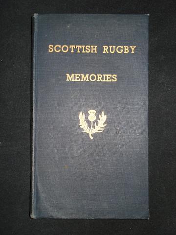 'Scottish Rugby Memories' 1934/9