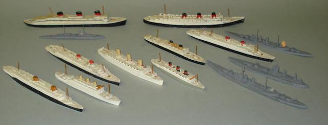 Dinky Ocean Liners lot