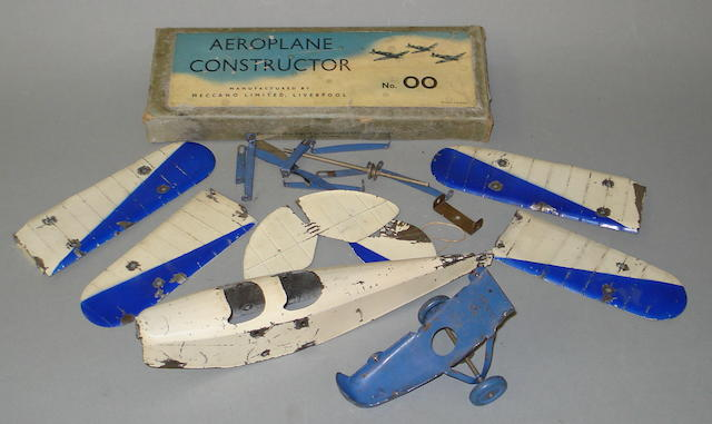Meccano wartime Aeroplane constructors set No.00