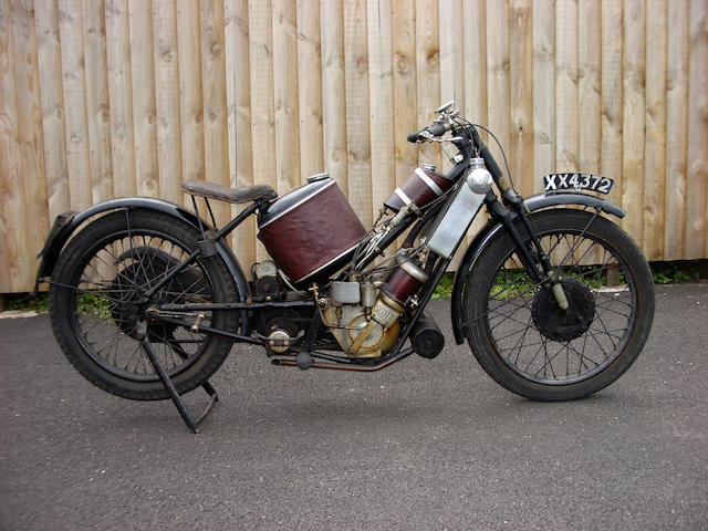 1925 Scott 596cc Two-Speed Flying Squirrel Frame no. 854 Engine no. Z1382A