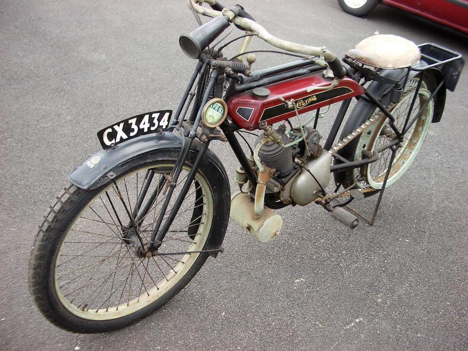 c.1921 Clyno 2½hp Lightweight Frame no. 135 Engine no. L1864/19