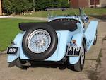 The ex-Sir Malcolm Campbell,1934 Lagonda M45 T7 Tourer  Chassis no. Z10993 Engine no. M45/227