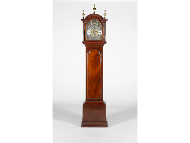 George III longcase clock by J. Mearns