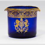 A gilt Royal armorial wine glass rinser circa 1806