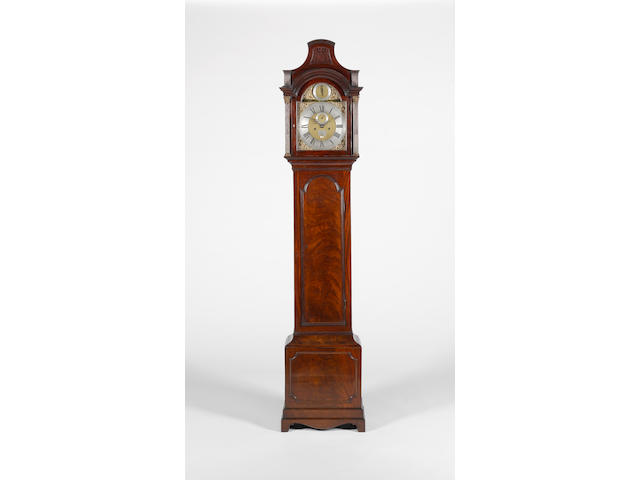 A third quarter of the 18th century mahogany long case clock B.Baddy, Clapham