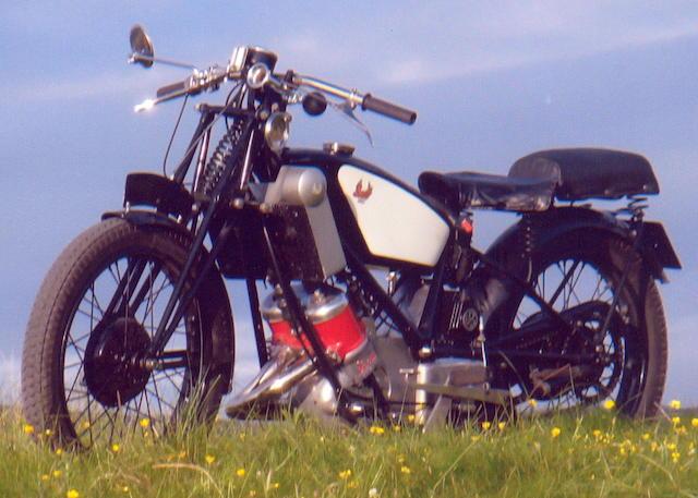 1928 Scott 596cc Flying Squirrel Frame no. 1857M Engine no. FY1020