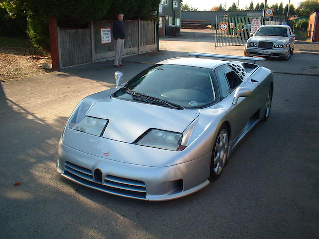 Formerly the Property of the Royal Family of Brunei,1993 Bugatti EB110SS Super Sport Coupé  Chassis no. ZA9BB02EOPCD39001