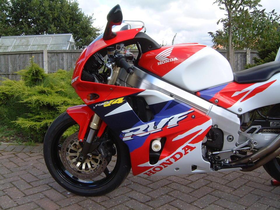 1994 Honda RVF750 Type RC45 Frame no. RC45 2000240 Engine no. RC45E 200275