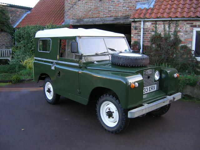 1963 Land Rover Series IIA  Chassis no. 24110017B