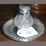 Of Halifax Interest  A Victorian inkstand by Edward Finley and Hugh Taylor, London 1891