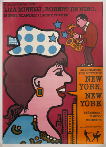 "Three ""New York, New York"" film posters, United Artists, 1977,3"