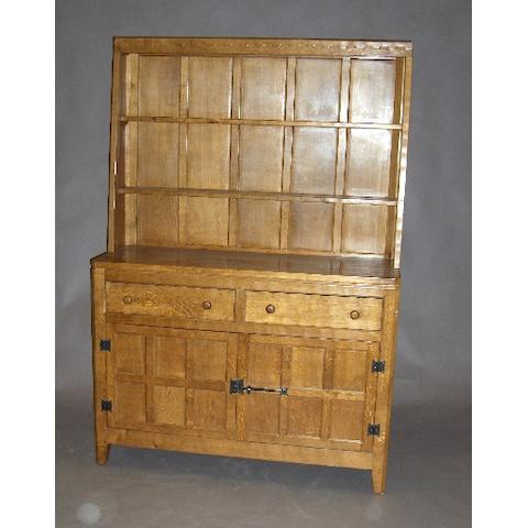 A 'Rabbitman' oak dresser