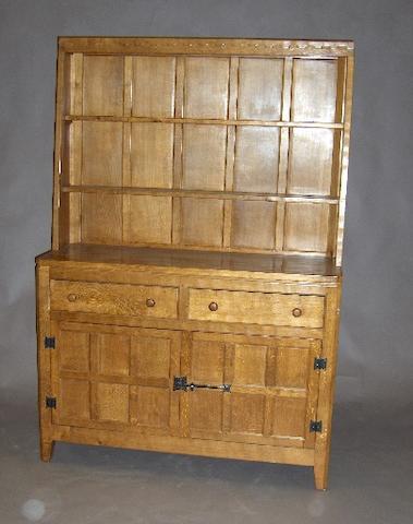 A 'Rabbitman' oak dresser