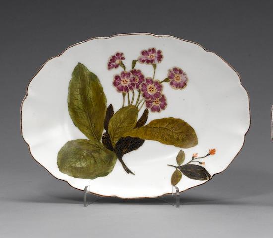 A Chelsea small dish  circa 1758-60