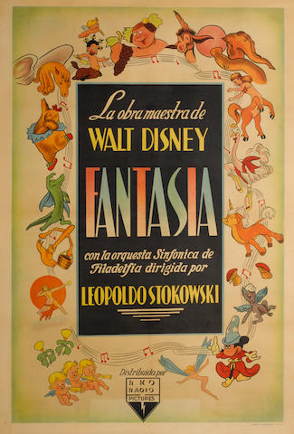Fantasia, Walt Disney Pictures, 1940,