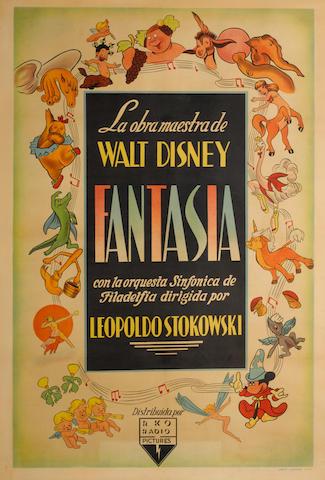 Fantasia, Walt Disney Pictures, 1940,
