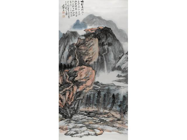 Zhang Daqian (Chang Dai-chien, 1899-1983) Autumn Landscape