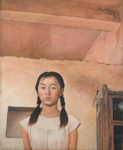 Shi Liang (b.1963) Young Girl