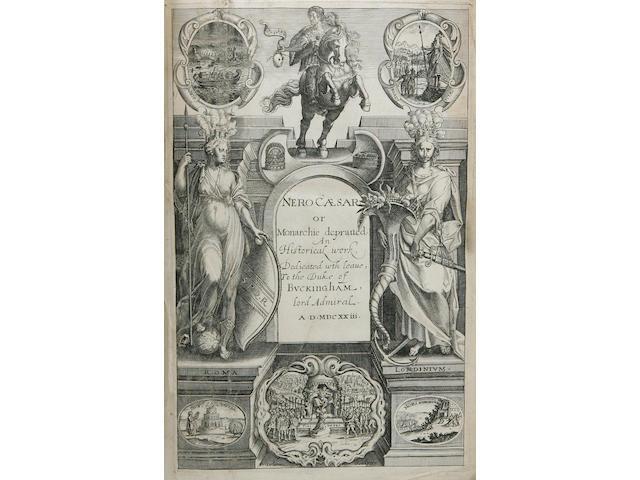 BOLTON (EDMUND)] Nero Caesar, Monarchie Depraved