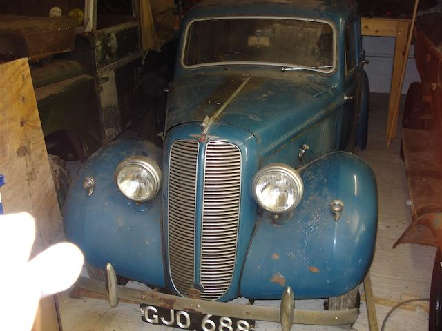 1939 Hillman Minx Saloon  Chassis no. 1111214 Engine no. 1110898