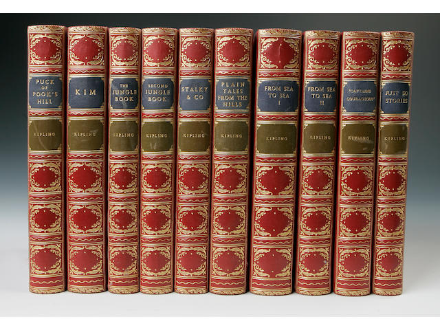 KIPLING (RUDYARD) [The Works], 25 vol.