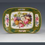 A fine Nantgarw dish or small tray circa 1818-20