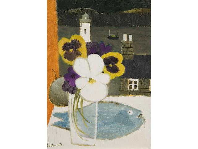 Mary Fedden R.A. (British, born 1915) 'Shetlands'