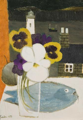 Mary Fedden R.A. (British, born 1915) 'Shetlands'