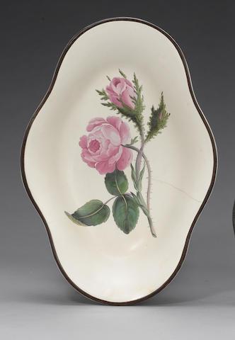 A Swansea pearlware centrepiece circa 1800