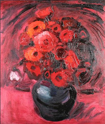 Theodore Major (British, 1908-1999) Poppies,
