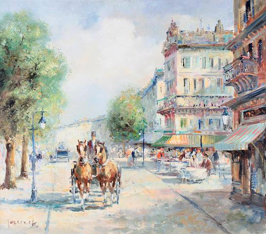 "Christian Jereczek (German, born 1935) ""La Parisien"","