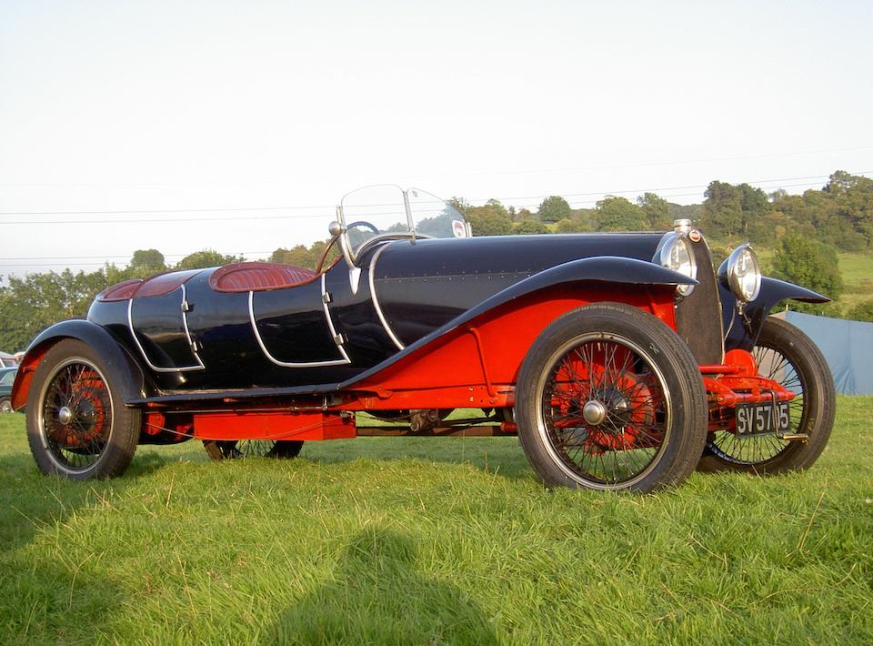 1926 Bugatti Type 30 Tourer  Chassis no. 4724 Engine no. 277