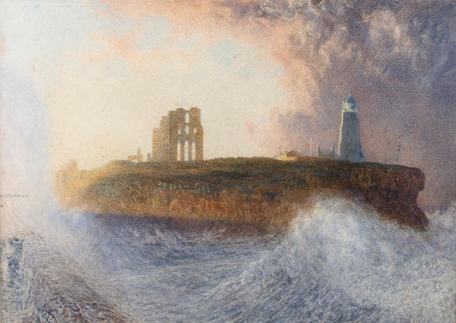 "Alfred William Hunt (British, 1830-1896) ""Tynemouth"","