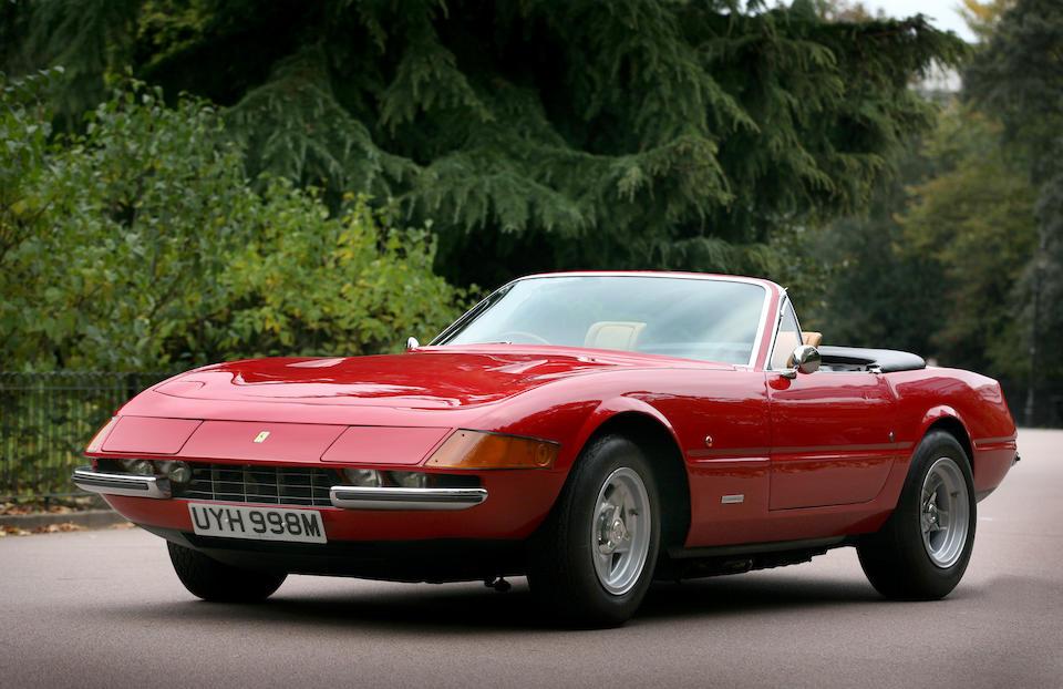 1973 Ferrari 365GTB/4 'Daytona' Spyder Conversion  Chassis no. 16647 Engine no. 16647