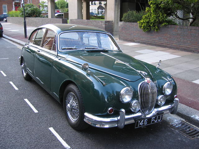 1963 Jaguar MkII Automatic Saloon  Chassis no. 161776BW Engine no. KH65138