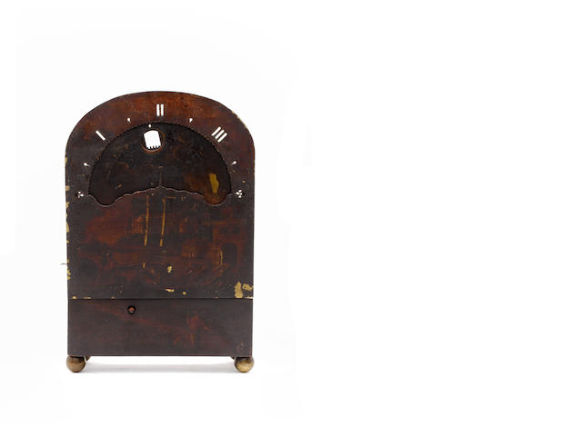 Edward Stanton, a late 17th century night clock movement with painted dial