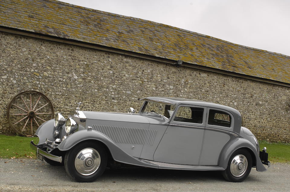 1932 Rolls-Royce 40/50hp Phantom II Continental Sports Saloon  Chassis no. 22 PY Engine no. VQ 15