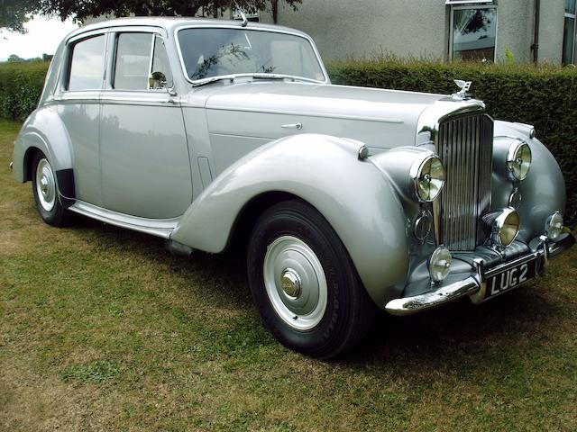 Formerly the Property of Alan Whicker, CBE,1955 Bentley R-Type 4½-Litre Saloon  Chassis no. B96ZY Engine no. B137Z